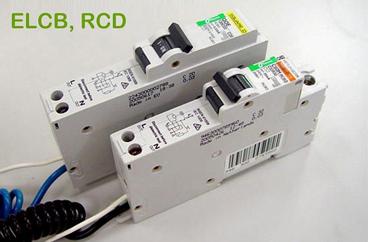 Earth Leakage Circuit Breaker & Residual Current Device