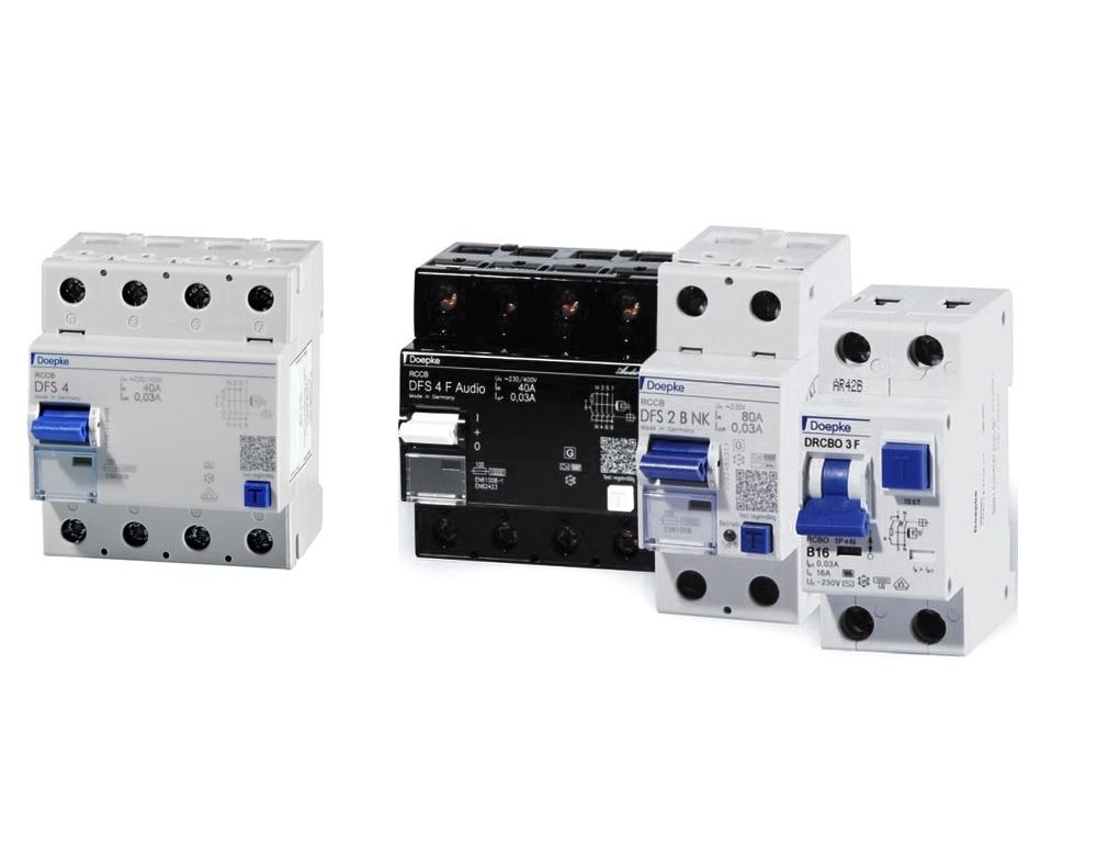 Doepke interruptores automáticos y diferenciales