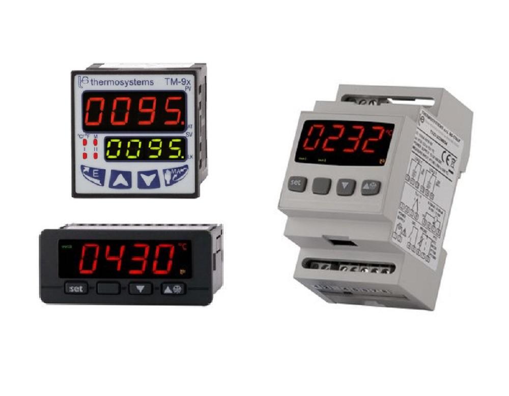 THS Thermosystems instrumentación electrónica industrial para control de temperatura